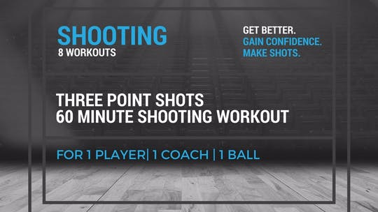 Shooting Workout 4 by EYG Basketball, powered by Intelivideo