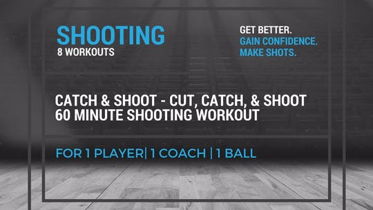 Shooting Workout 1 by EYG Basketball, powered by Intelivideo