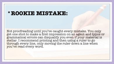 Module 7, Rookie Mistake by Anna David, LLC