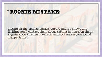 Module 8, Rookie Mistake by Anna David, LLC
