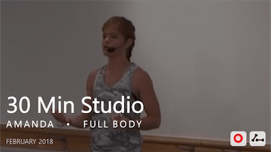 30 Min Studio with Amanda  |  February by Pure Barre On Demand