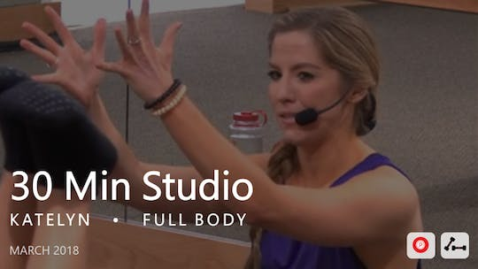 Instant Access to 30 Min Studio with Katelyn  |  March by Pure Barre On Demand, powered by Intelivideo