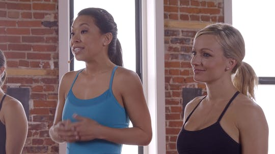 Instant Access to Flex Series 1: Tone in 10: Full Body warmup by Pure Barre On Demand, powered by Intelivideo