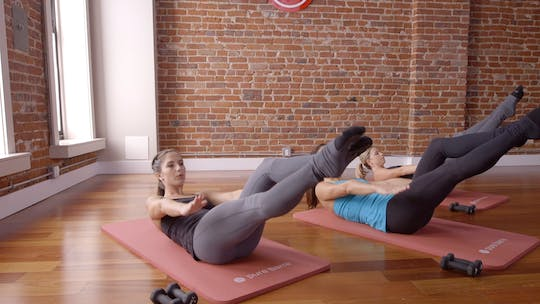 Instant Access to Flex Series 1: Tone in 10: Thighs and Abs by Pure Barre On Demand, powered by Intelivideo