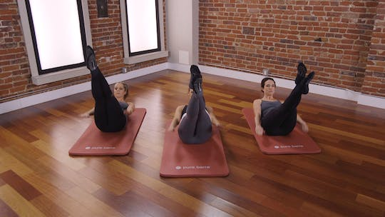 Instant Access to Flex Series 2: Tone in 10: Abs by Pure Barre On Demand, powered by Intelivideo