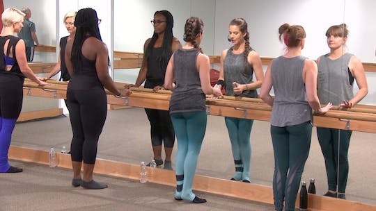 Instant Access to 10 min w/Brookelin: thigh and seat by Pure Barre On Demand, powered by Intelivideo