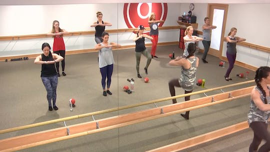 Instant Access to 45 min w/Brookelin by Pure Barre On Demand, powered by Intelivideo