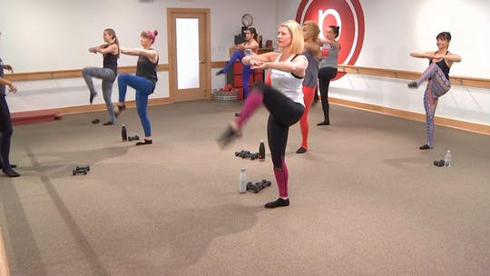 Instant Access to 45 min w/Katelyn by Pure Barre On Demand, powered by Intelivideo
