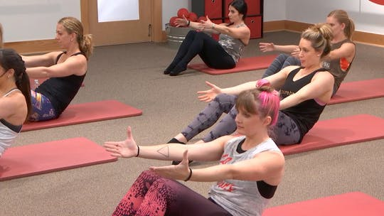 Instant Access to 5 Min Burn: Abs by Pure Barre On Demand, powered by Intelivideo