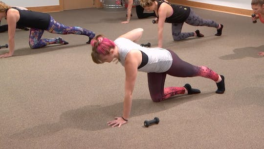 Instant Access to 5 Min Burn: Arms by Pure Barre On Demand, powered by Intelivideo