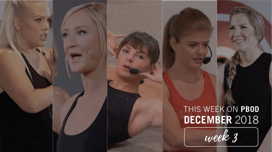 December  |  Week 3 by Pure Barre On Demand