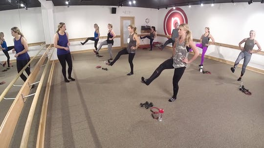 Instant Access to NEW 8/18- 5 Min Burn: Tone your THIGHS by Pure Barre On Demand, powered by Intelivideo