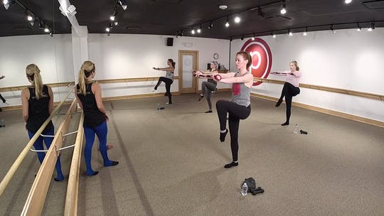 Instant Access to 45 Minute Holiday Workout by Pure Barre On Demand, powered by Intelivideo