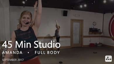45 Min Studio with Amanda  |  September by Pure Barre On Demand