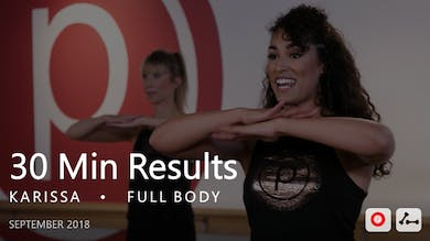 30 Min Results with Karissa  |  September by Pure Barre On Demand