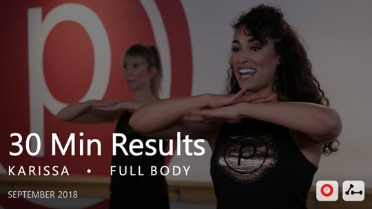 Instant Access to 30 Min Results with Karissa  |  September by Pure Barre On Demand, powered by Intelivideo