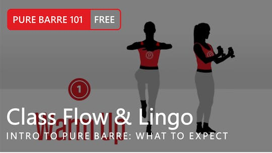 Instant Access to Intro to Pure Barre: Class Flow & Lingo by Pure Barre On Demand, powered by Intelivideo