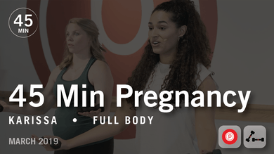 45 Min Pregnancy with Karissa: Full Body | March 2019 by Pure Barre On Demand