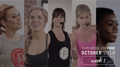 October  |  Week 1 by Pure Barre On Demand