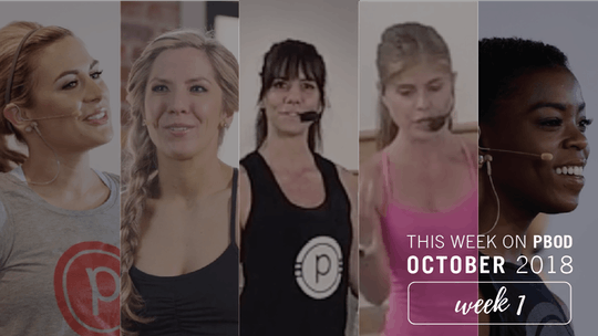 October  |  Week 1 by Pure Barre On Demand, powered by Intelivideo