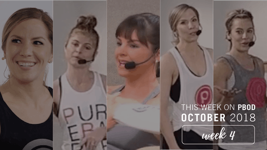 October  |  Week 4 by Pure Barre On Demand, powered by Intelivideo