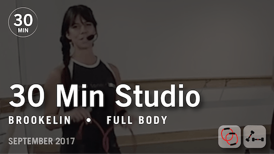 Instant Access to 30 Min Studio with Brookelin: Full Body  |  September 2017 by Pure Barre On Demand, powered by Intelivideo