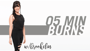 Instant Access to 5 Min Burns with Brookelin by Pure Barre On Demand, powered by Intelivideo