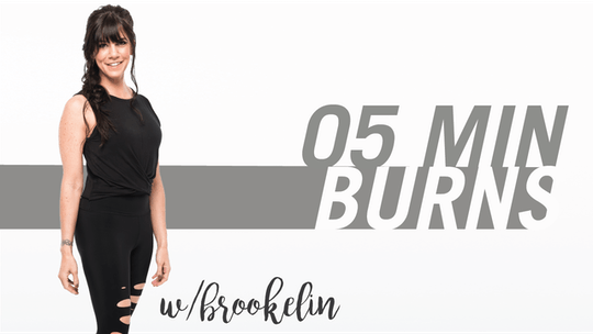 5 Min Burns with Brookelin by Pure Barre On Demand, powered by Intelivideo