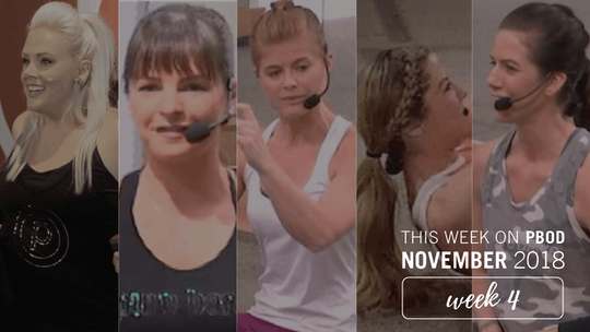 November  |  Week 4 by Pure Barre On Demand