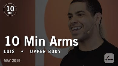 10 Min Arms with Luis  |  May 2019 by Pure Barre On Demand