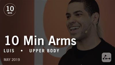 Instant Access to 10 Min Arms with Luis  |  May 2019 by Pure Barre On Demand, powered by Intelivideo