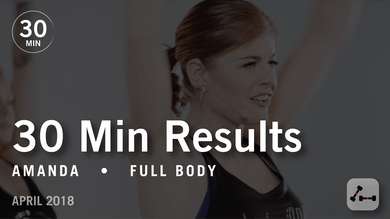 30 Min Results with Amanda: Full Body  |  April 2018 by Pure Barre On Demand