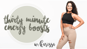 30 Min Energy Boosts with Karissa by Pure Barre On Demand