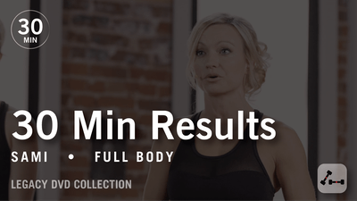 Instant Access to 30 Min Results with Sami: Full Body  |  Legacy DVD Collection by Pure Barre On Demand, powered by Intelivideo
