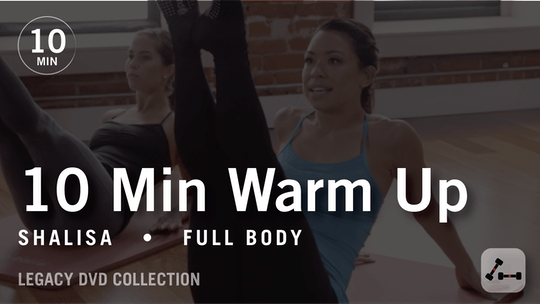 Instant Access to Tone in 10 with Shalisa: Full Body Warmup  |  Legacy DVD Collection by Pure Barre On Demand, powered by Intelivideo