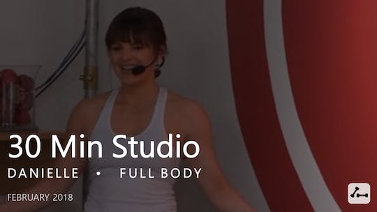 Instant Access to 30 Min Studio with Danielle  |  February by Pure Barre On Demand, powered by Intelivideo
