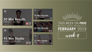 Instant Access to February 2019  |  Week 4 by Pure Barre On Demand, powered by Intelivideo