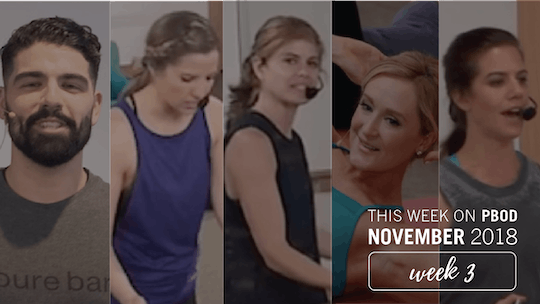 November  |  Week 3 by Pure Barre On Demand