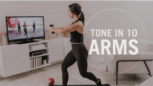 Instant Access to Tone in 10: Arms by Pure Barre On Demand, powered by Intelivideo