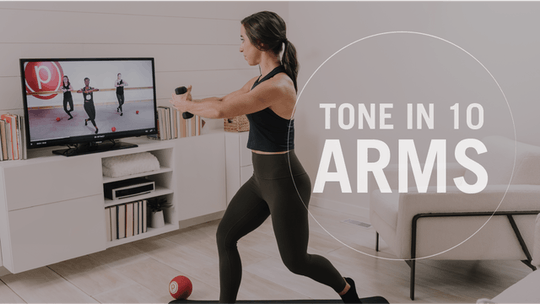 Tone in 10: Arms by Pure Barre On Demand, powered by Intelivideo