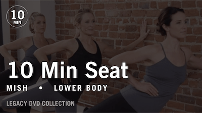 Instant Access to Tone in 10 with Mish: Seat  |  Legacy DVD Collection by Pure Barre On Demand, powered by Intelivideo