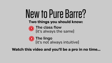 Intro to Pure Barre: What to Expect by Pure Barre On Demand
