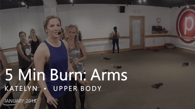 5 Min Burn: Arms  |  January by Pure Barre On Demand
