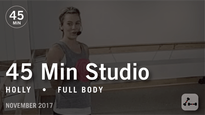 Instant Access to 45 Min Studio with Holly: Full Body  |  November 2017 by Pure Barre On Demand, powered by Intelivideo