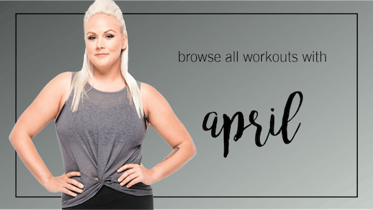 April: Browse All by Pure Barre On Demand, powered by Intelivideo
