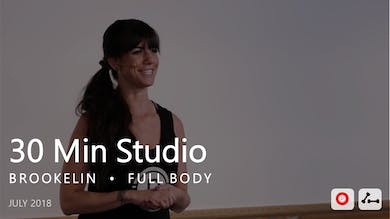 30 Min Studio with Brookelin  |  July by Pure Barre On Demand