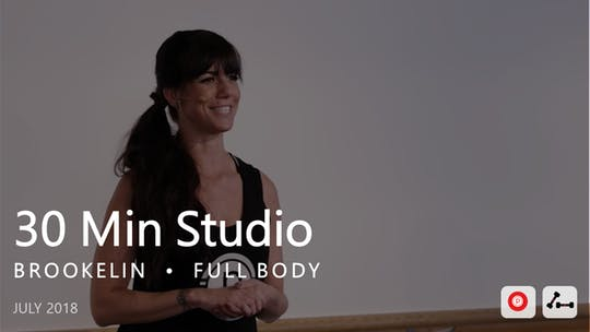 Instant Access to 30 Min Studio with Brookelin  |  July by Pure Barre On Demand, powered by Intelivideo
