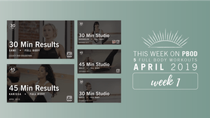 Instant Access to April 2019  |  Week 1 by Pure Barre On Demand, powered by Intelivideo