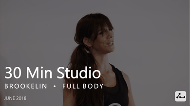 30 Min Studio with Brookelin  |  June by Pure Barre On Demand