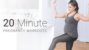 Instant Access to 20 Min Pregnancy Workouts by Pure Barre On Demand, powered by Intelivideo